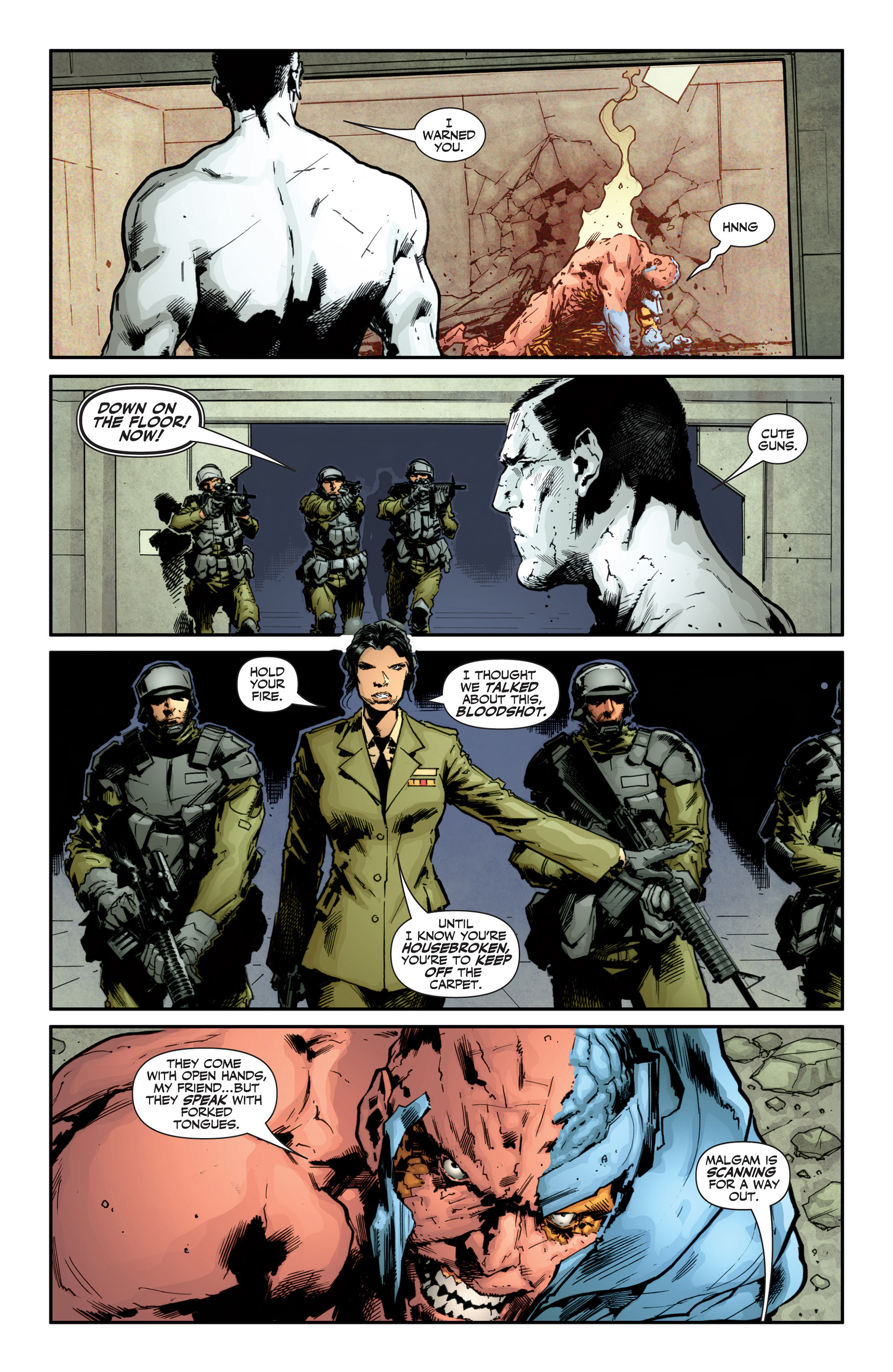 Read online Armor Hunters: Bloodshot comic -  Issue #1 - 10