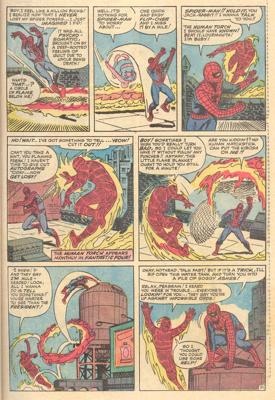 The Amazing Spider-Man (1963) _Annual_6 Page 21