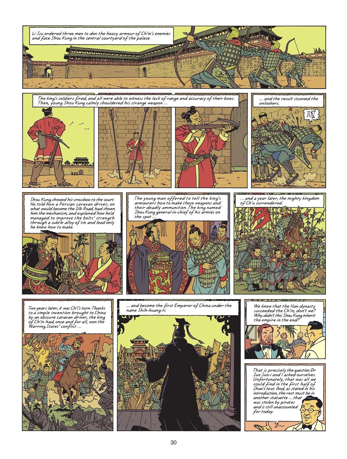 Read online Blake & Mortimer comic -  Issue #25 - 32