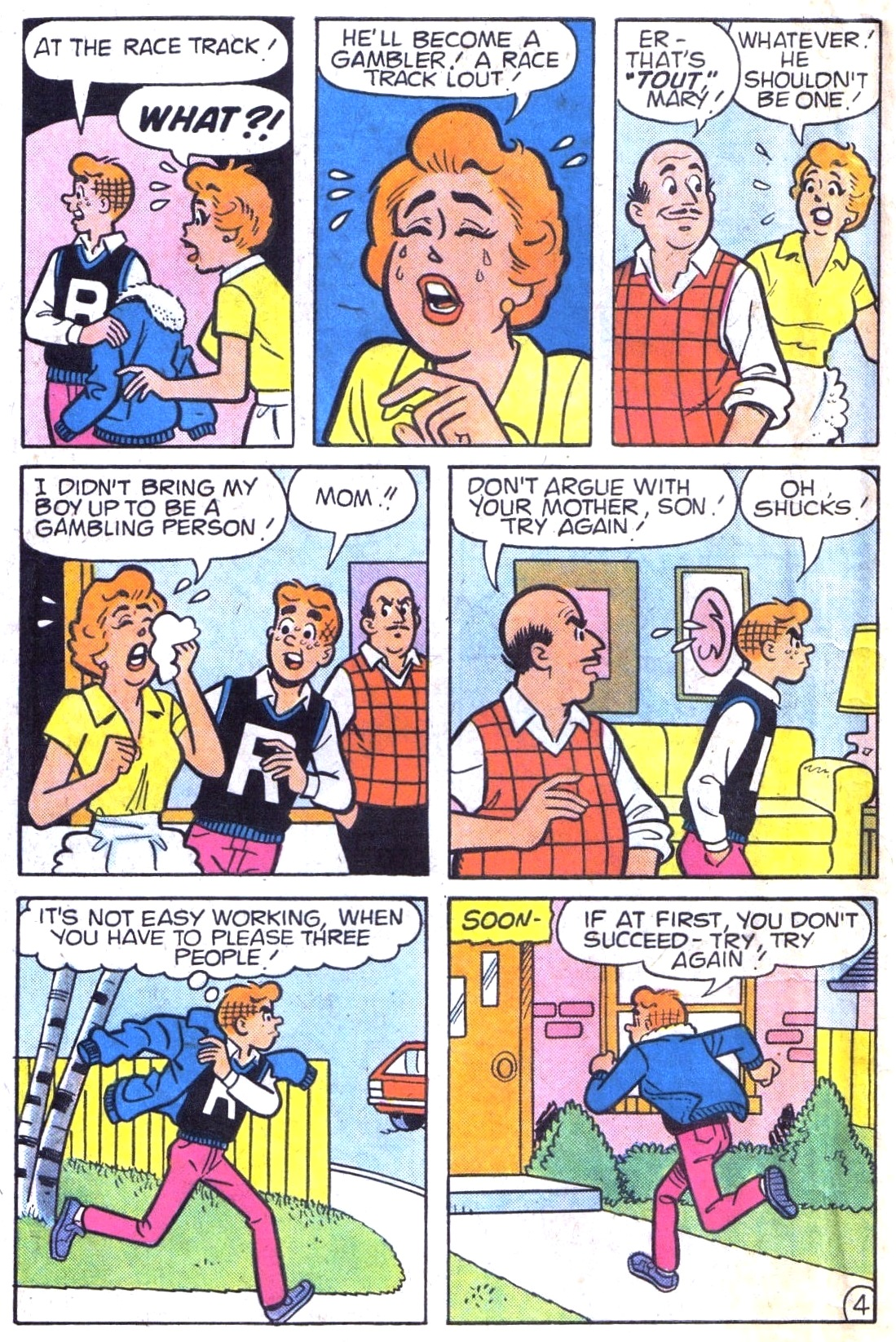 Read online Archie (1960) comic -  Issue #323 - 6