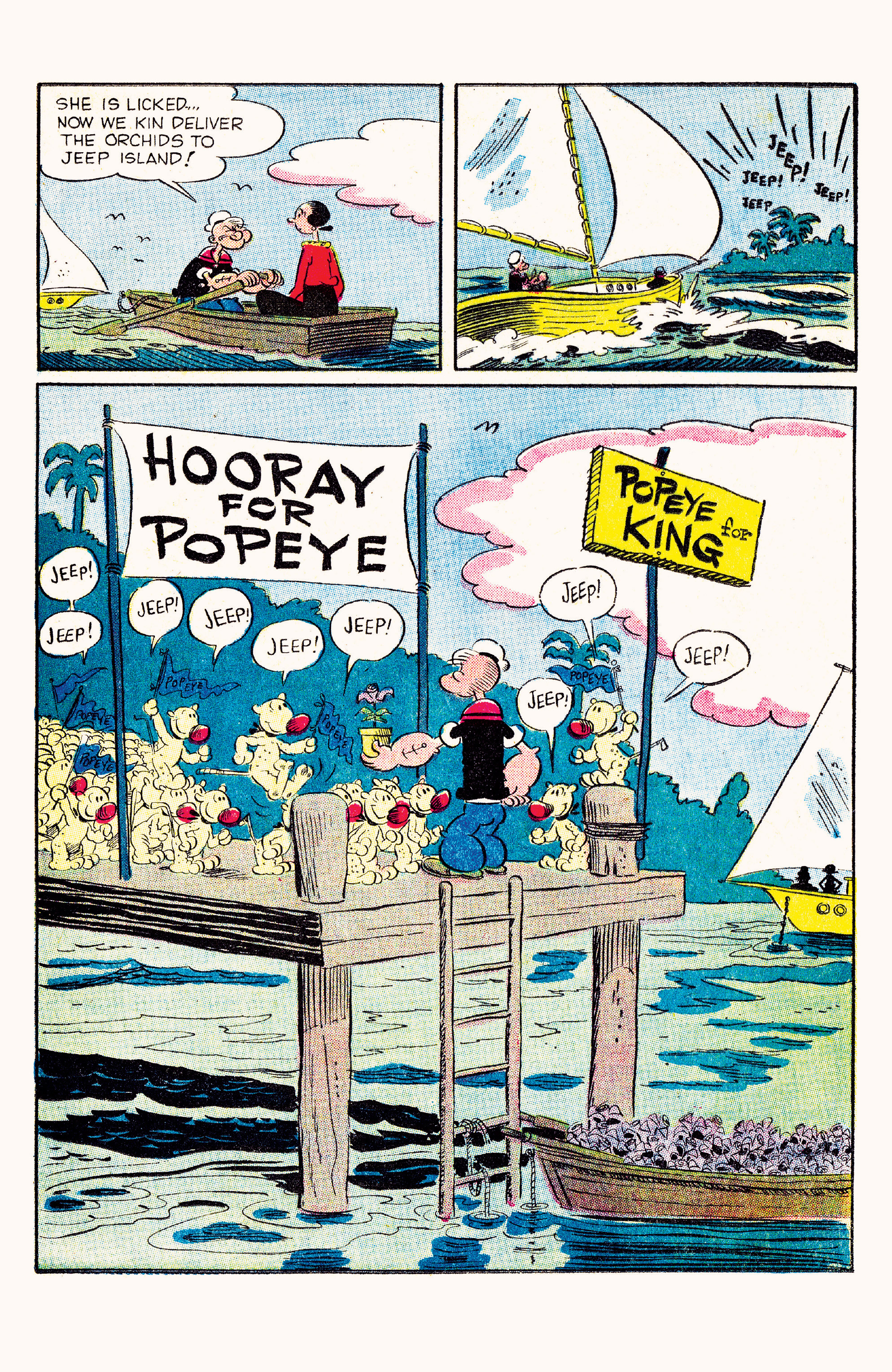 Read online Classic Popeye comic -  Issue #57 - 17