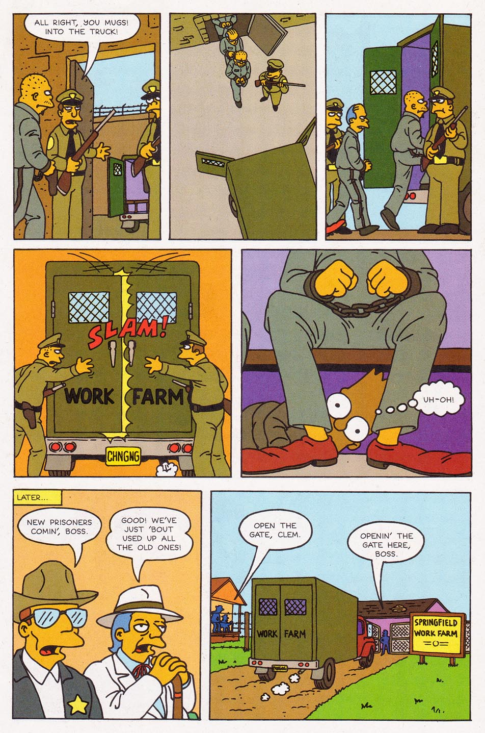 Read online Simpsons Comics comic -  Issue #2 - 14