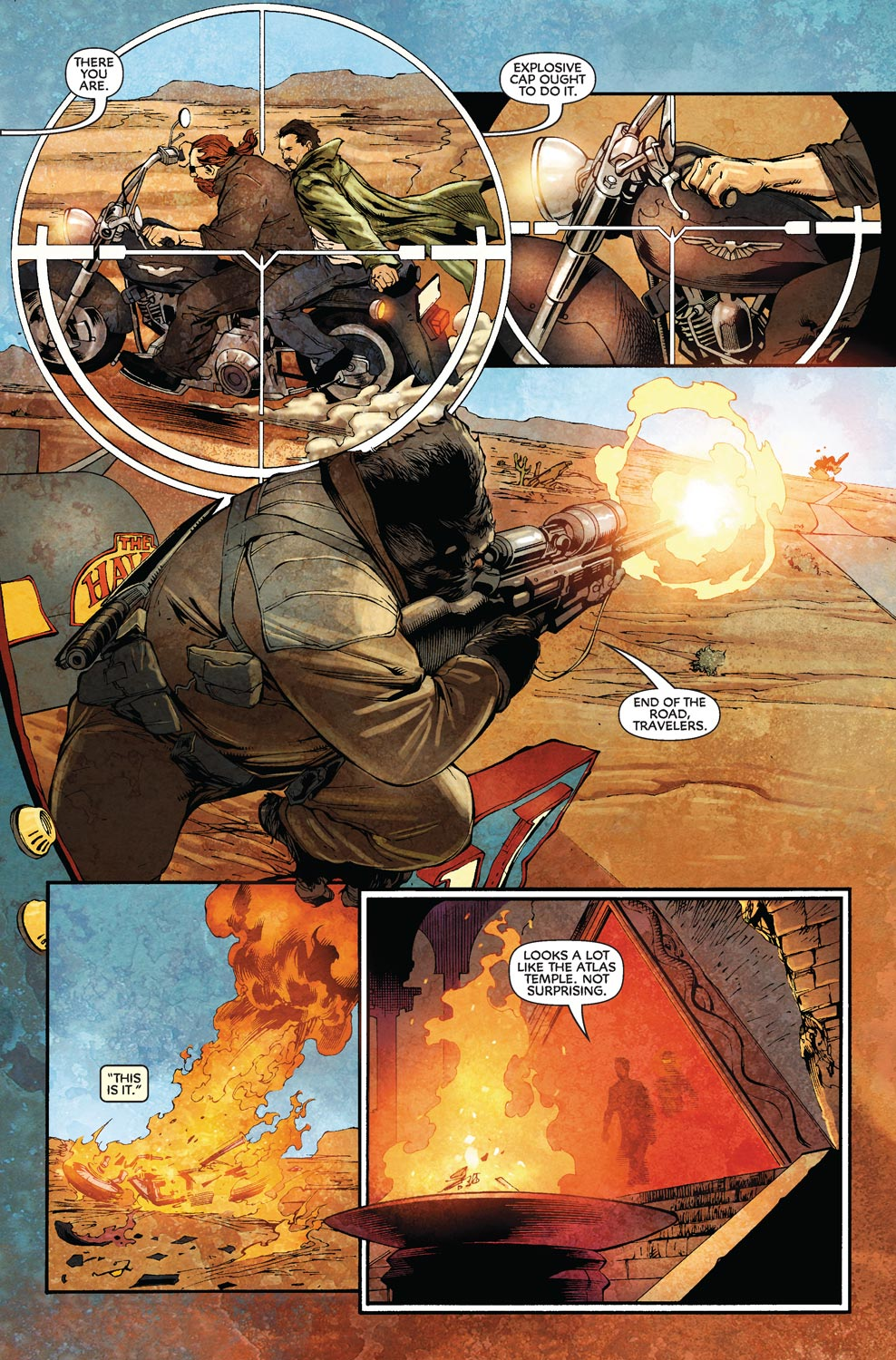 Read online Agents Of Atlas (2009) comic -  Issue #8 - 23
