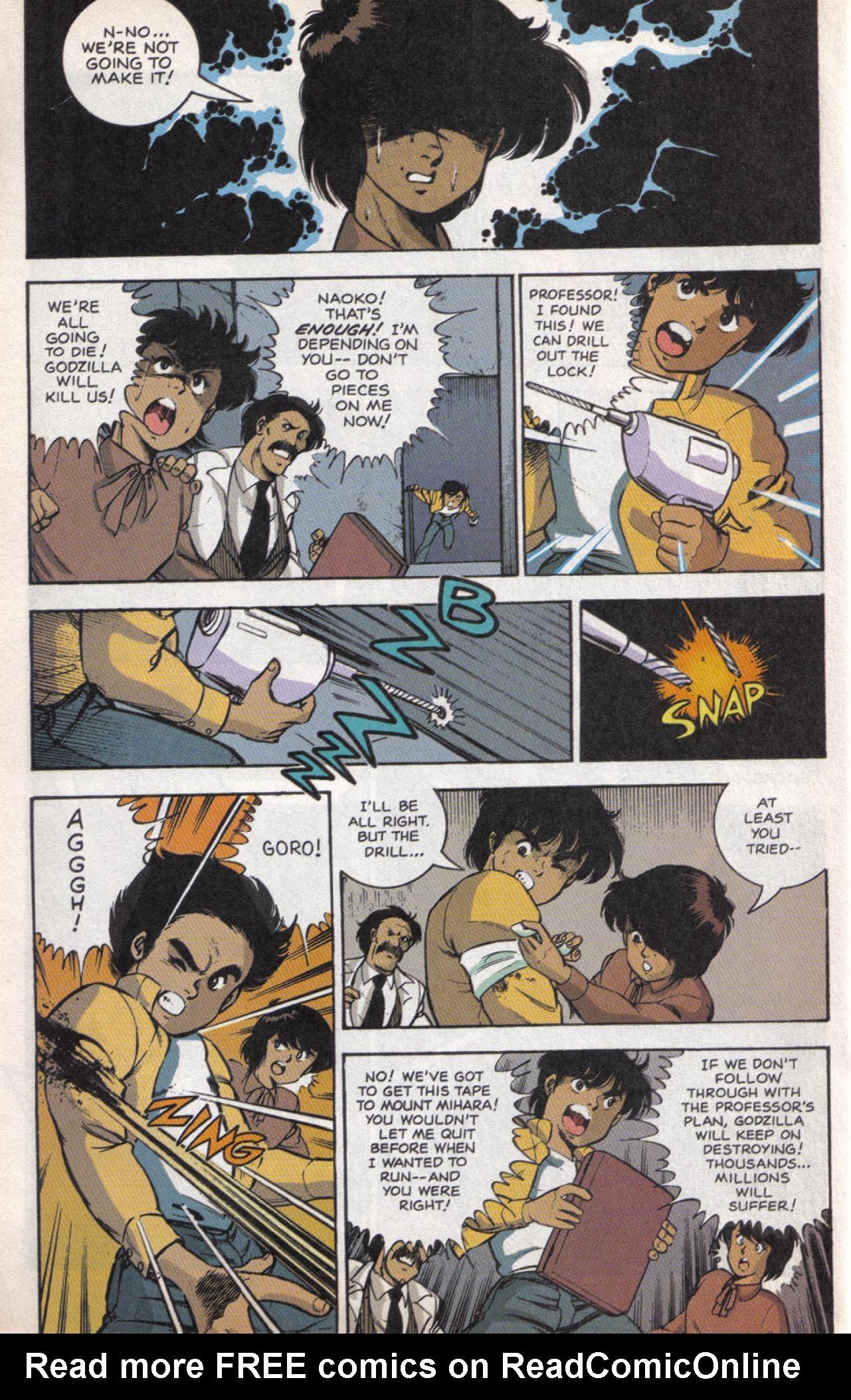 Read online Dark Horse Classics: Terror of Godzilla comic -  Issue #5 - 23