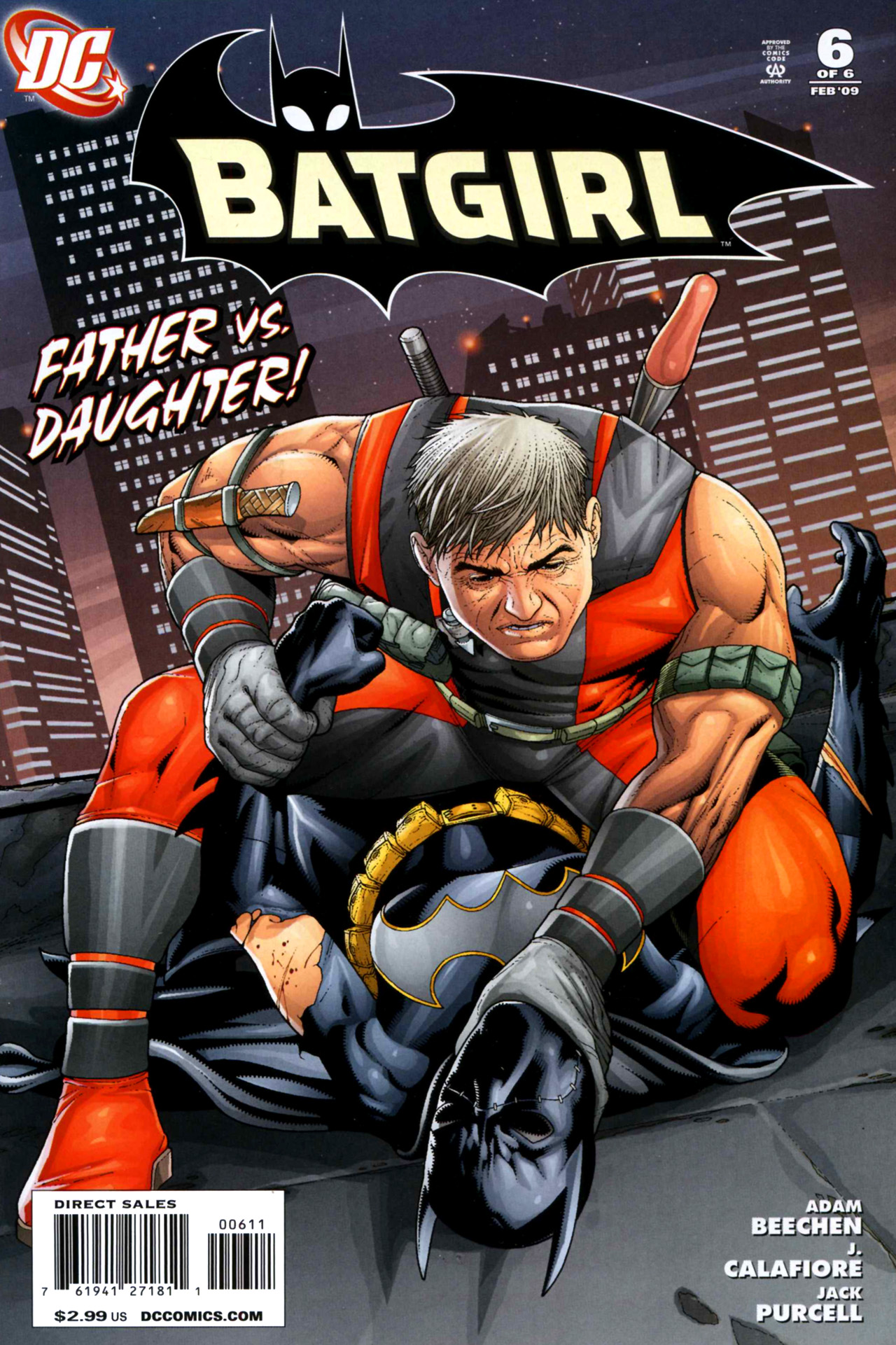 Batgirl (2008) 6 Page 1