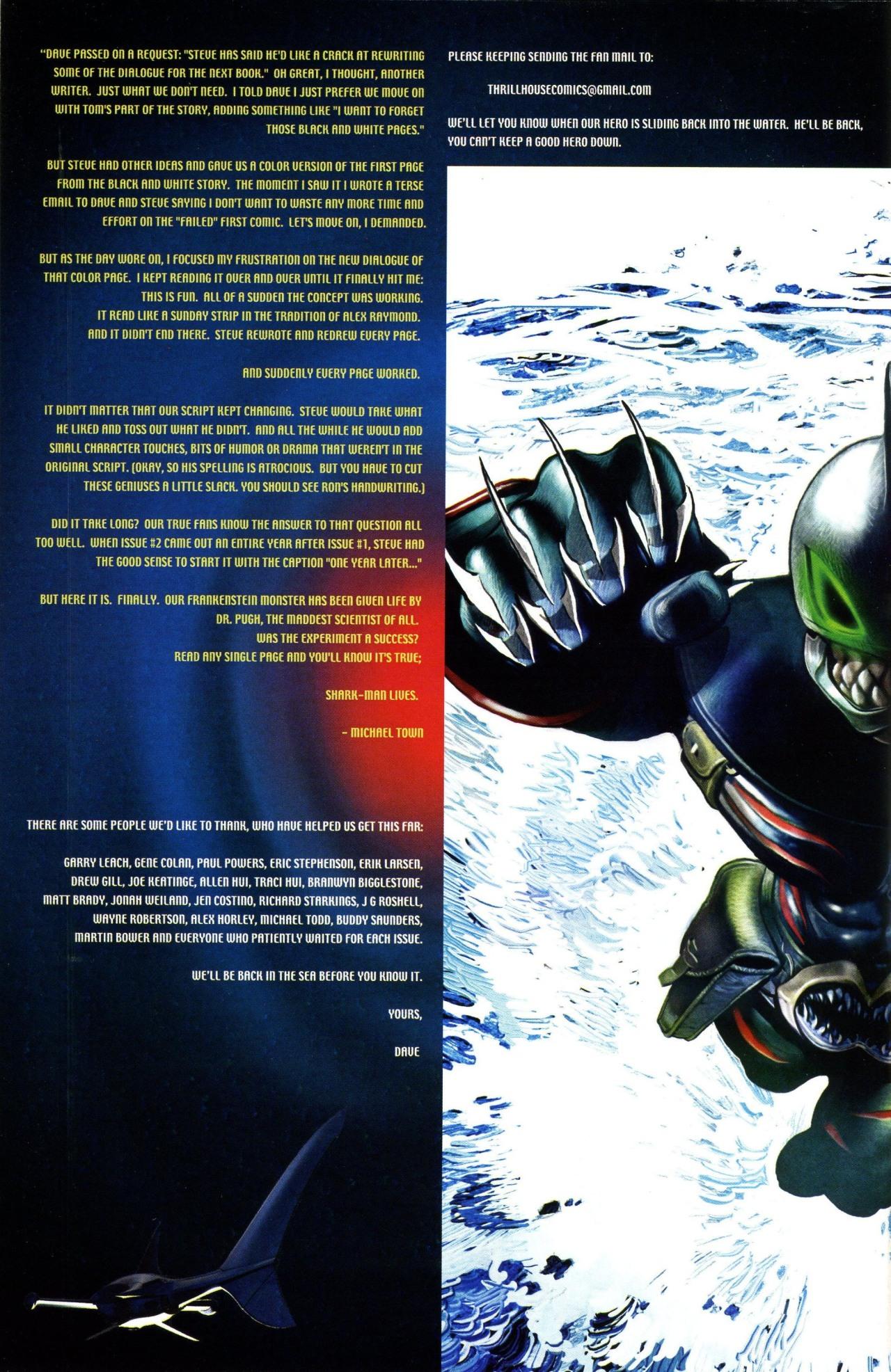 Read online Shark-Man comic -  Issue #3 - 25