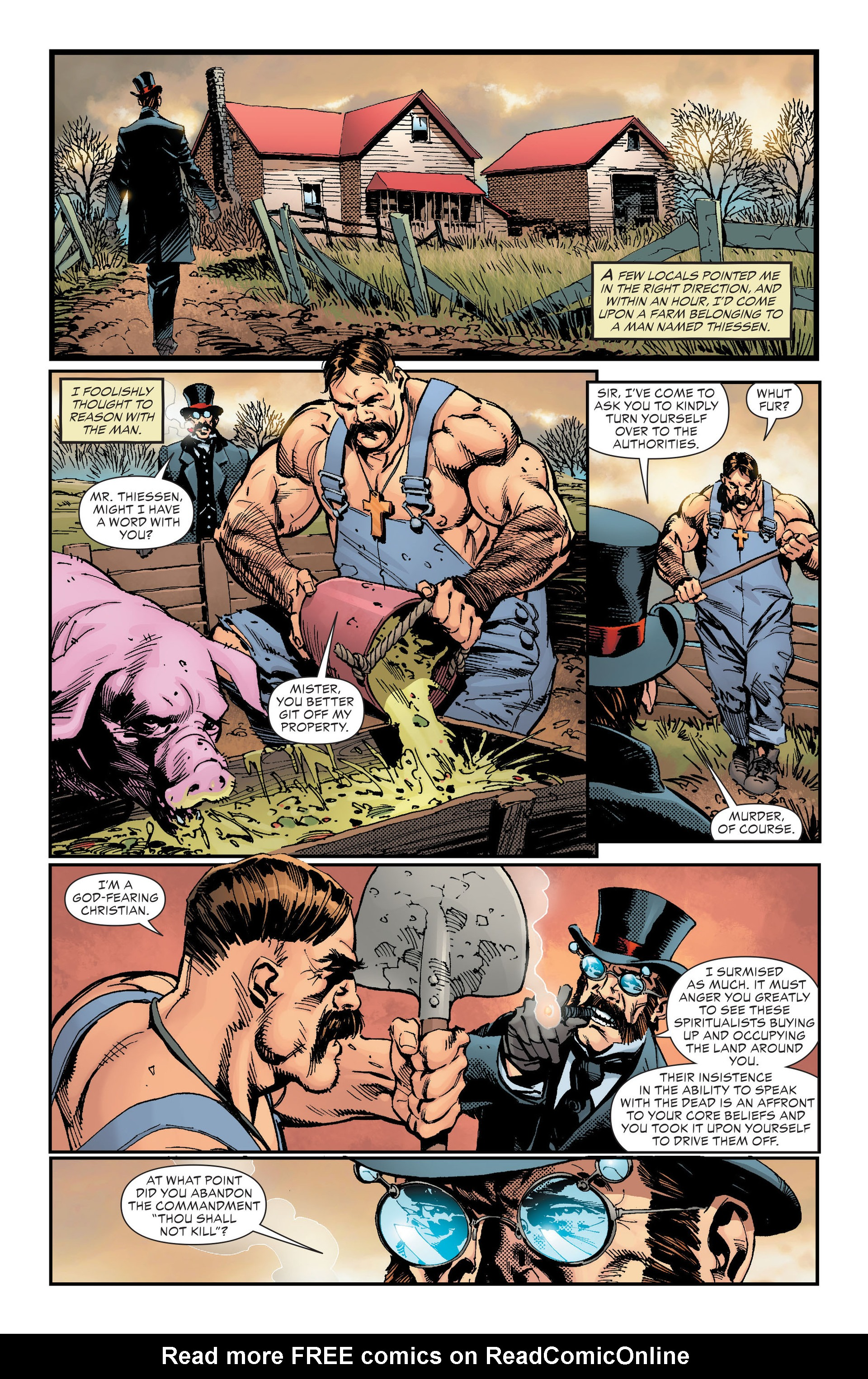 Read online All-Star Western (2011) comic -  Issue #18 - 27