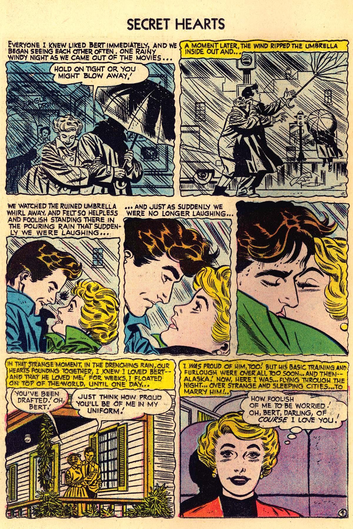 Read online Secret Hearts comic -  Issue #30 - 22