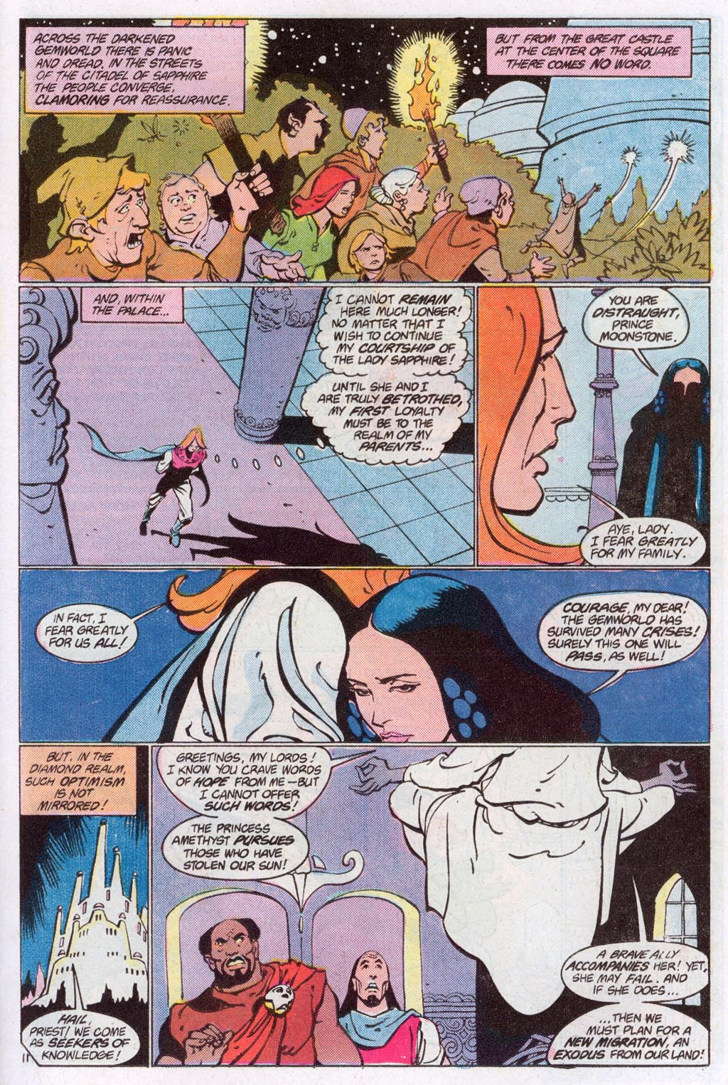 Read online Amethyst (1985) comic -  Issue #10 - 15