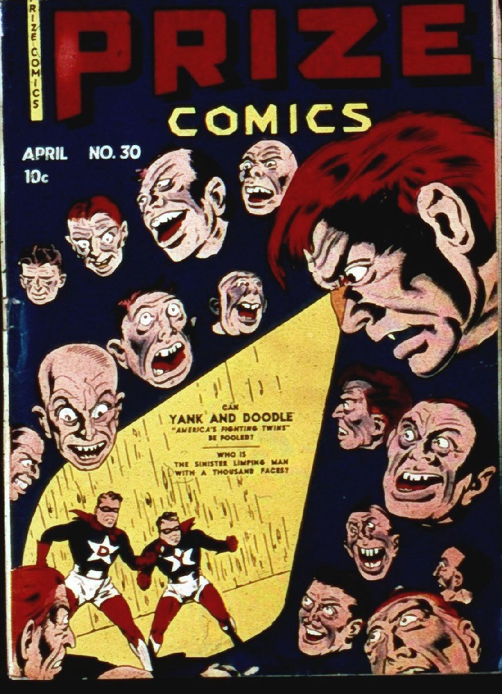 Prize Comics 30 Page 1