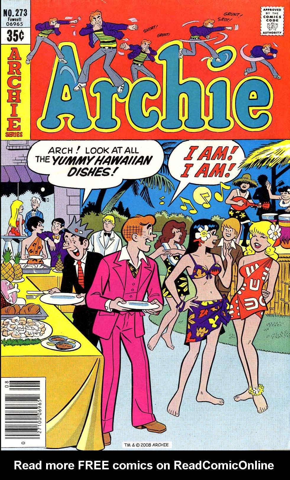 Read online Archie (1960) comic -  Issue #273 - 1