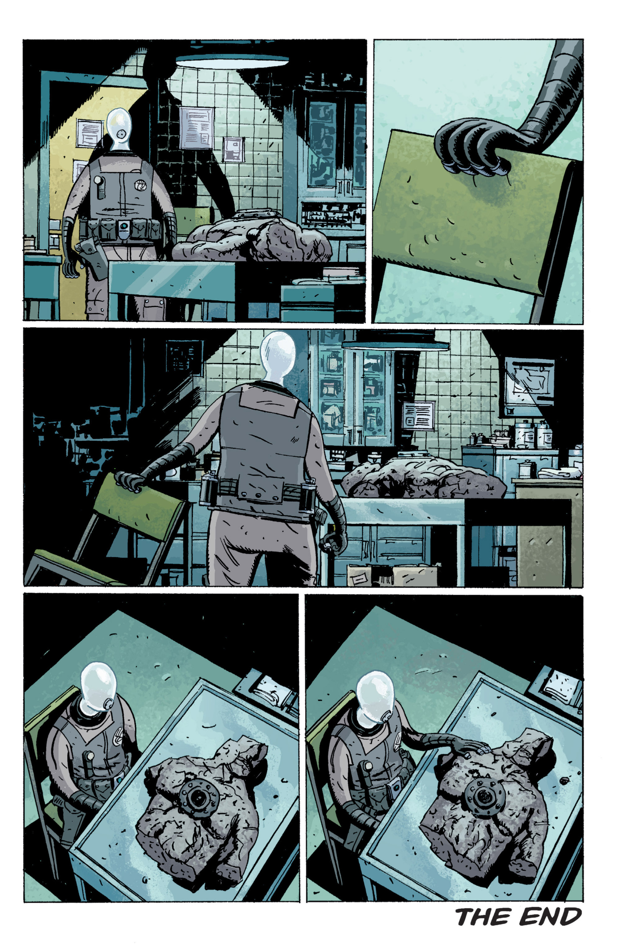 Read online B.P.R.D. (2003) comic -  Issue # TPB 5 - 157