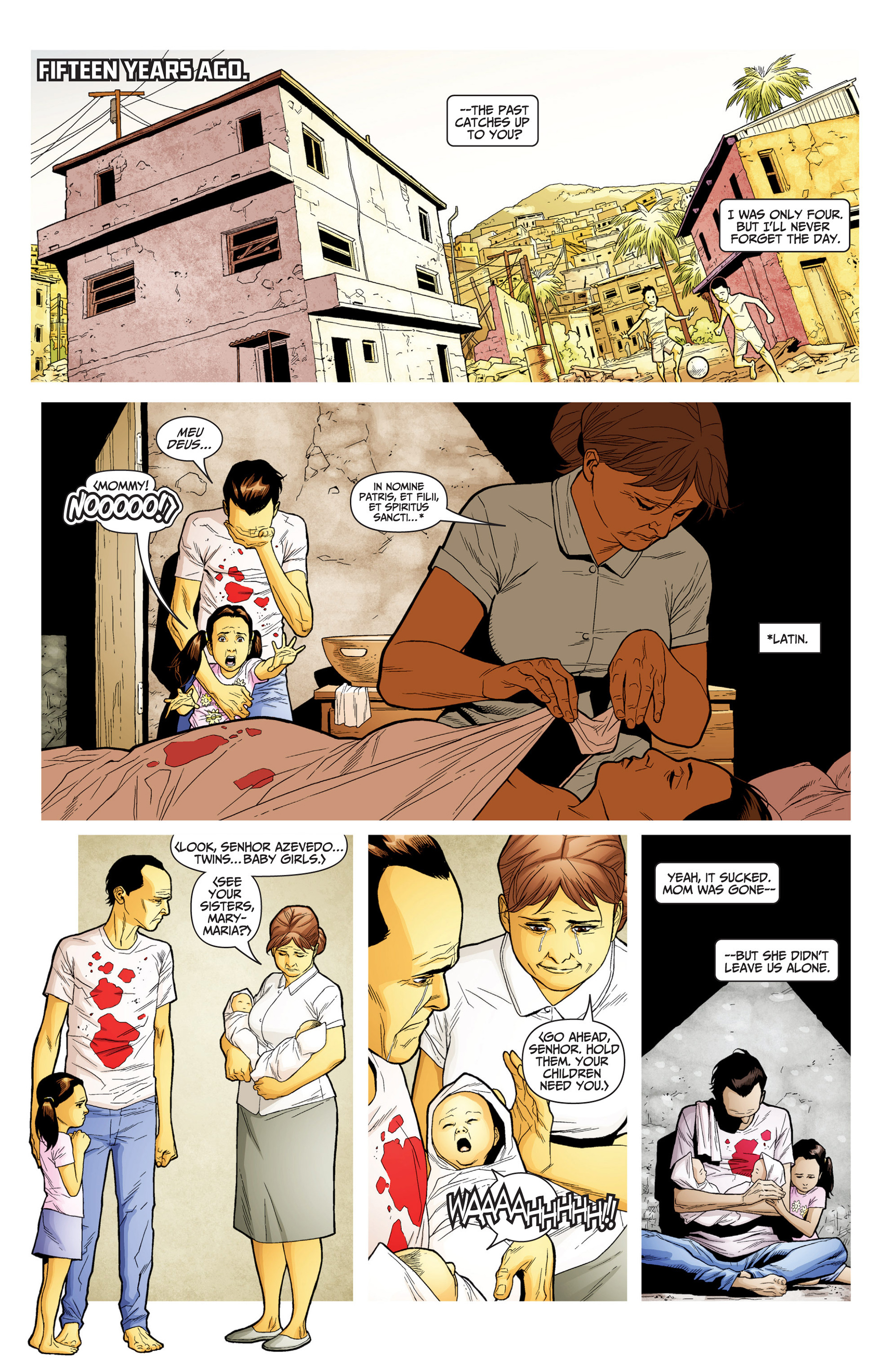 Read online Archer and Armstrong comic -  Issue #24 - 6
