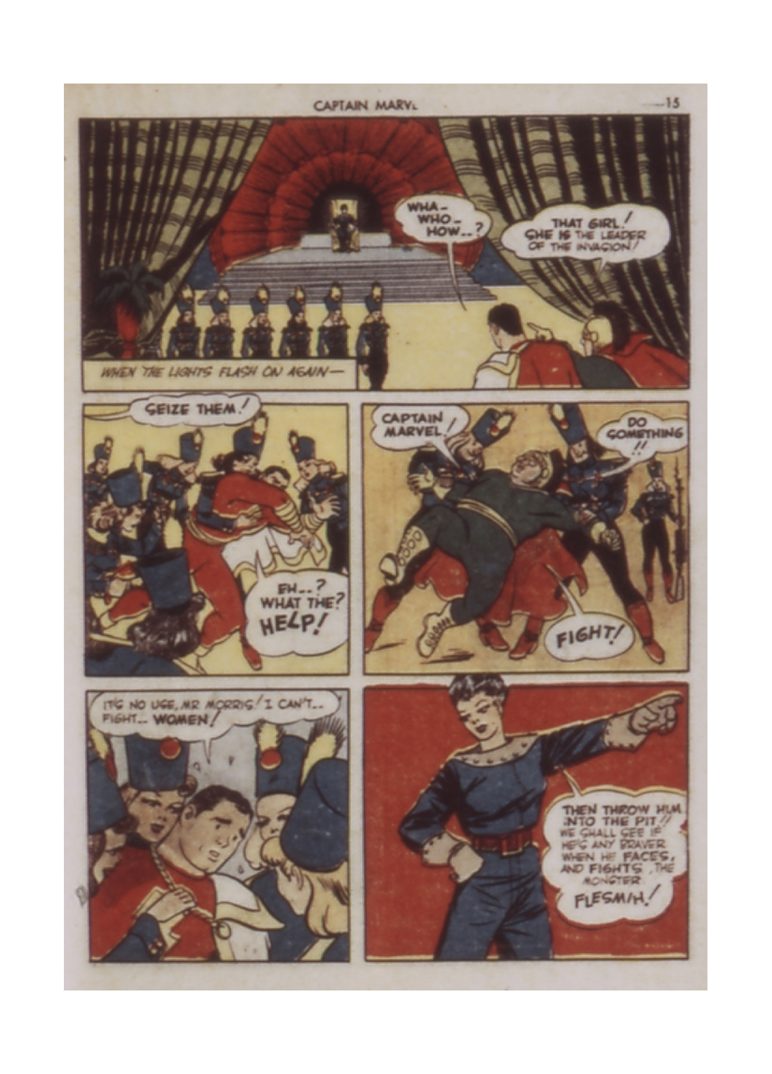 Captain Marvel Adventures issue 9 - Page 15