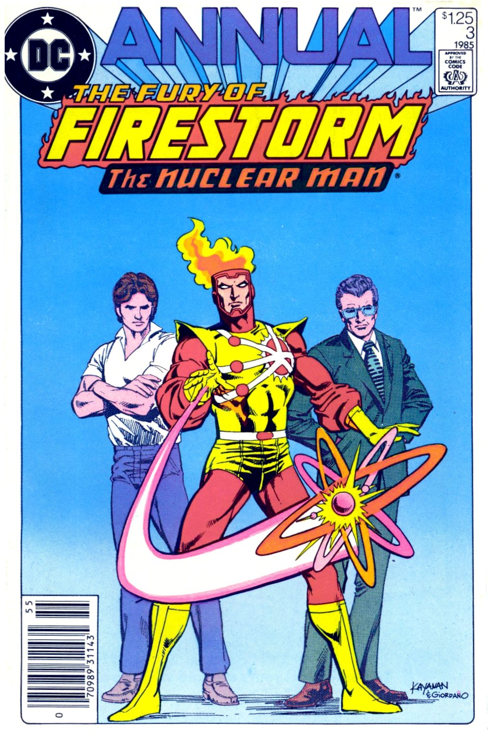 The Fury of Firestorm issue Annual 3 - Page 1