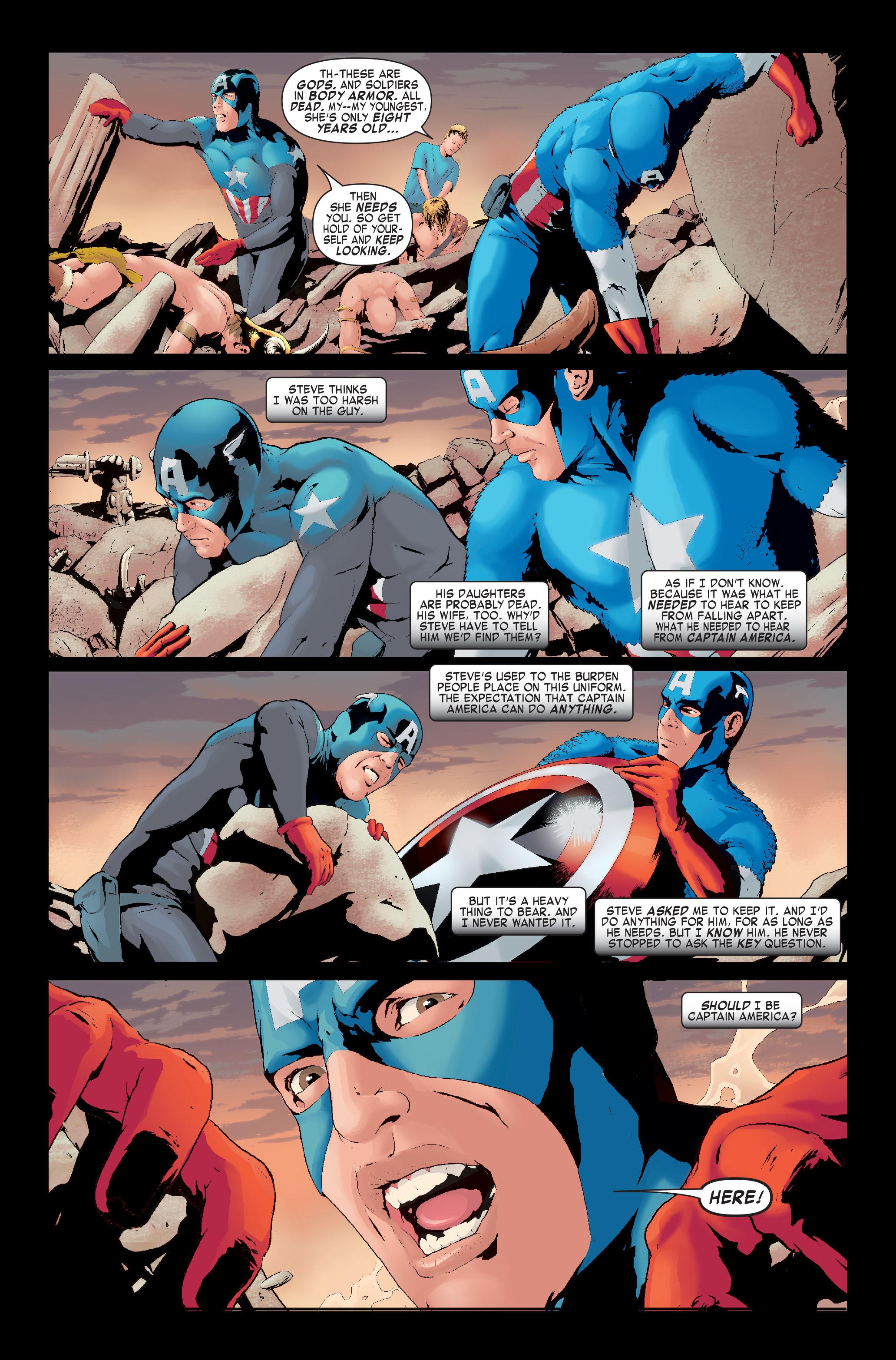 Read online Siege: Captain America comic -  Issue # Full - 12