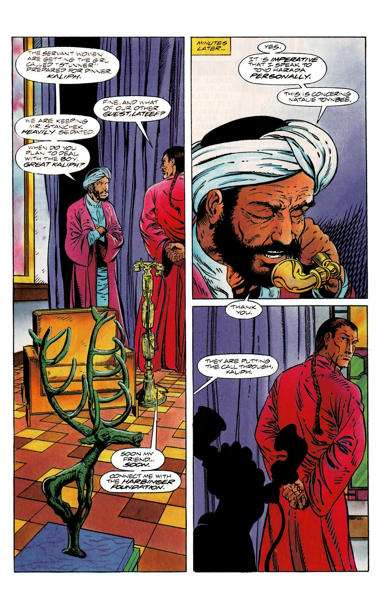 Read online Harbinger (1992) comic -  Issue #20 - 7