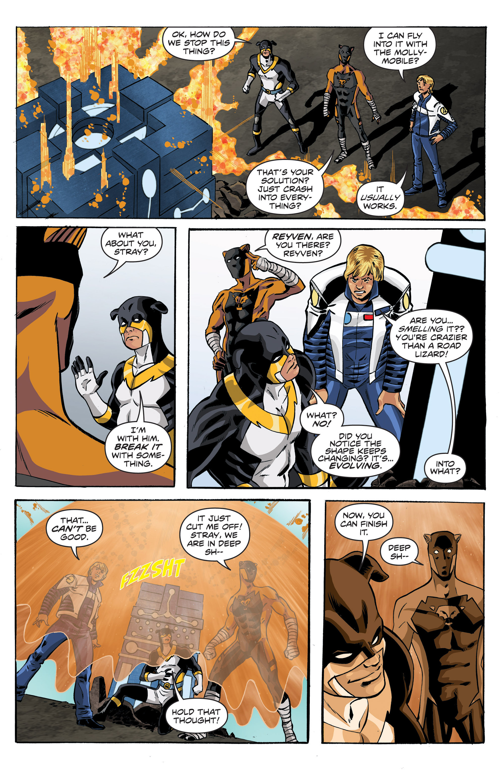 Read online Actionverse comic -  Issue #6 - 9