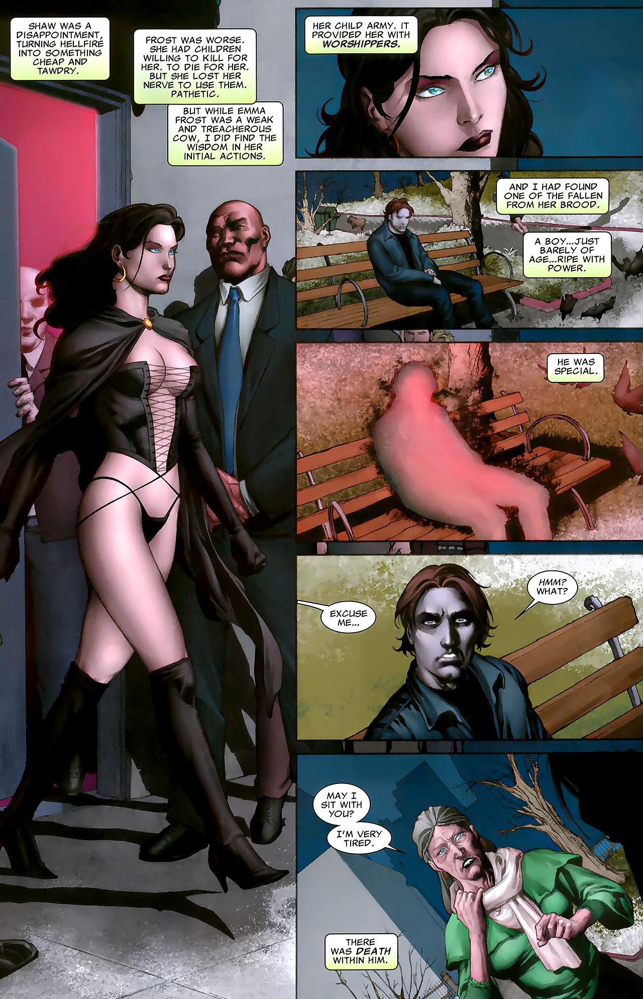 Read online X Necrosha: The Gathering comic -  Issue # Full - 4