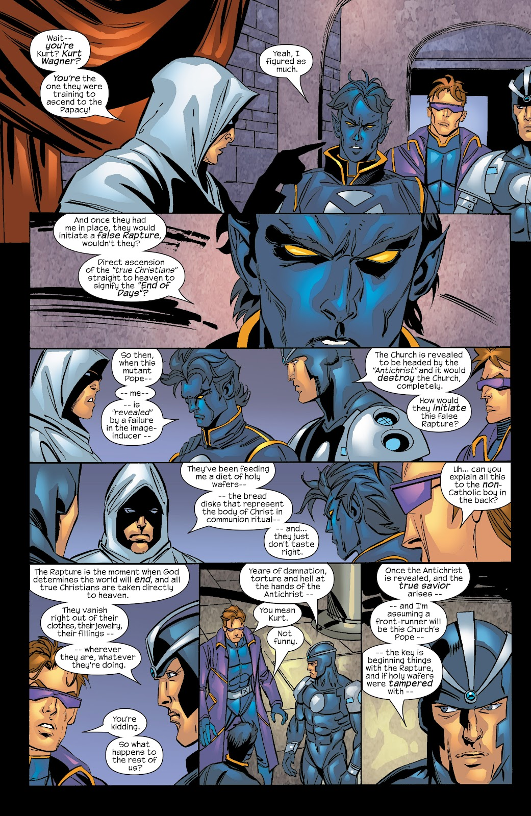 Read online X-Men: Unstoppable comic -  Issue # TPB (Part 4) - 111
