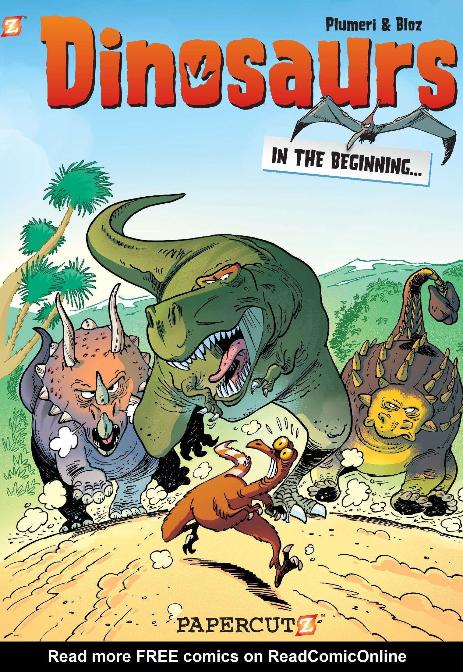 Dinosaurs (2014) issue 1 - Page 1