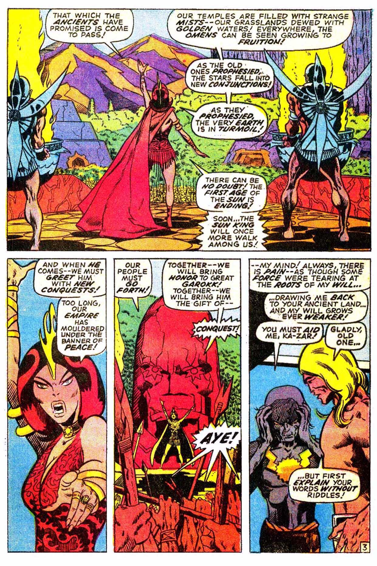 Read online Astonishing Tales (1970) comic -  Issue #3 - 14
