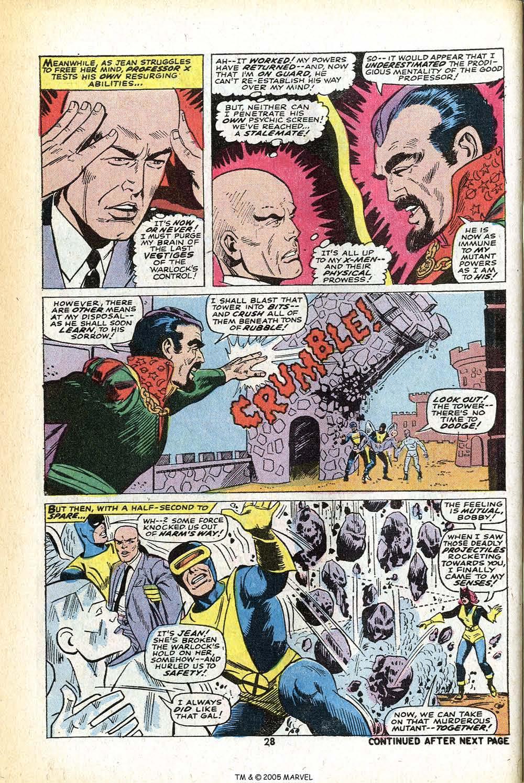 Read online Uncanny X-Men (1963) comic -  Issue #78 - 30