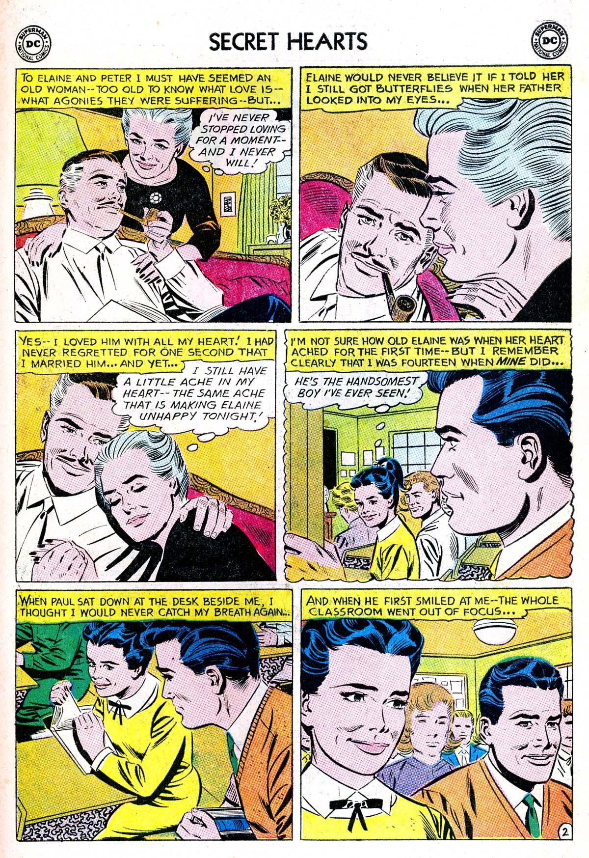 Read online Secret Hearts comic -  Issue #85 - 11