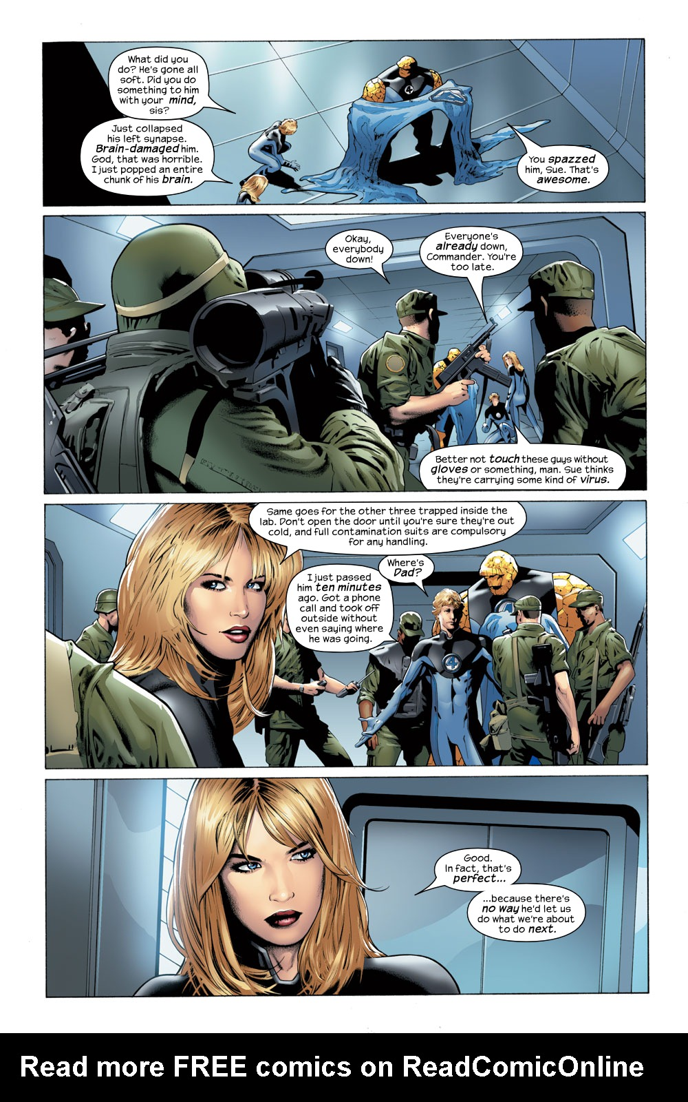 Read online Ultimate Fantastic Four (2004) comic -  Issue #23 - 6