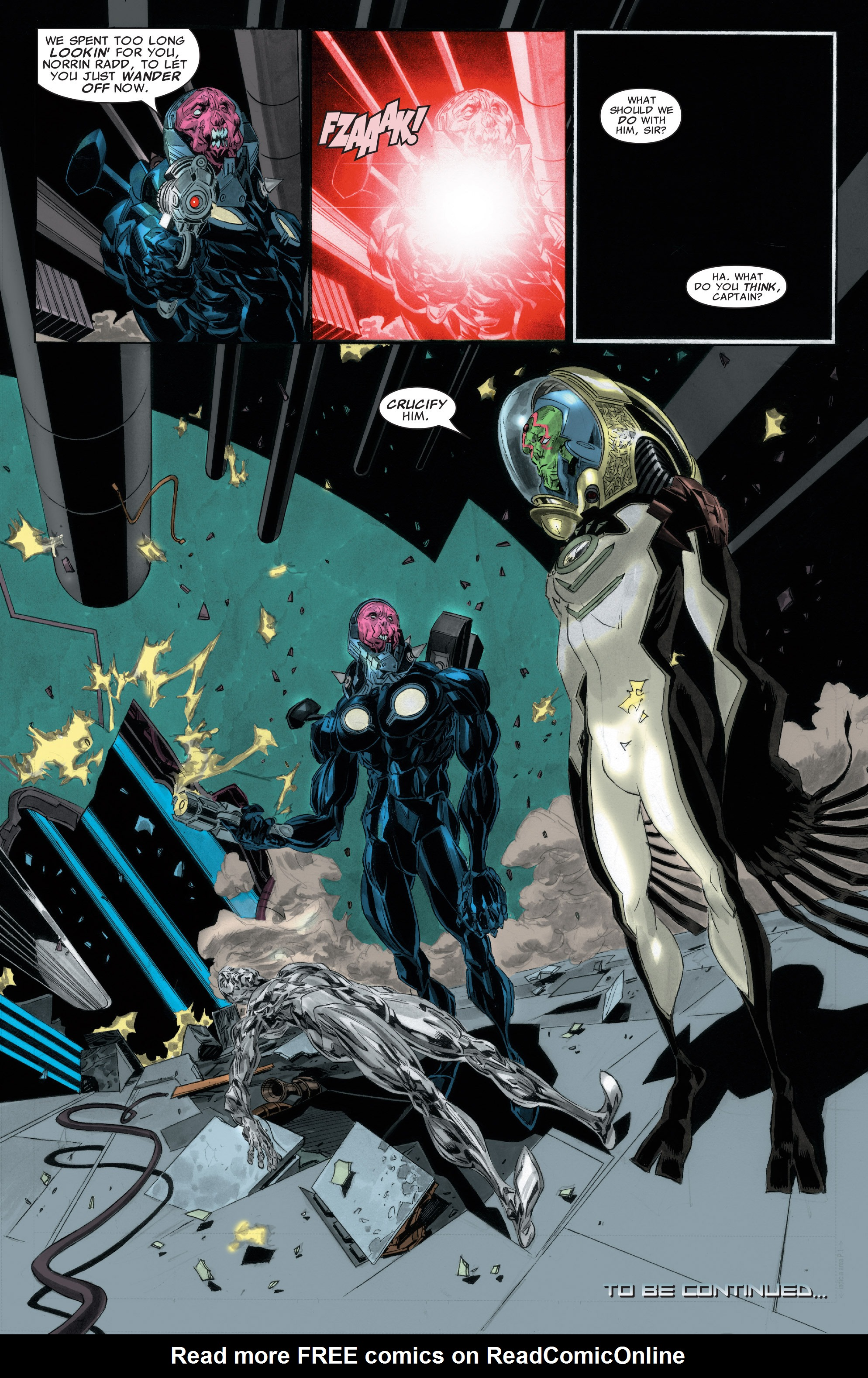 Read online Silver Surfer: In Thy Name comic -  Issue #2 - 23