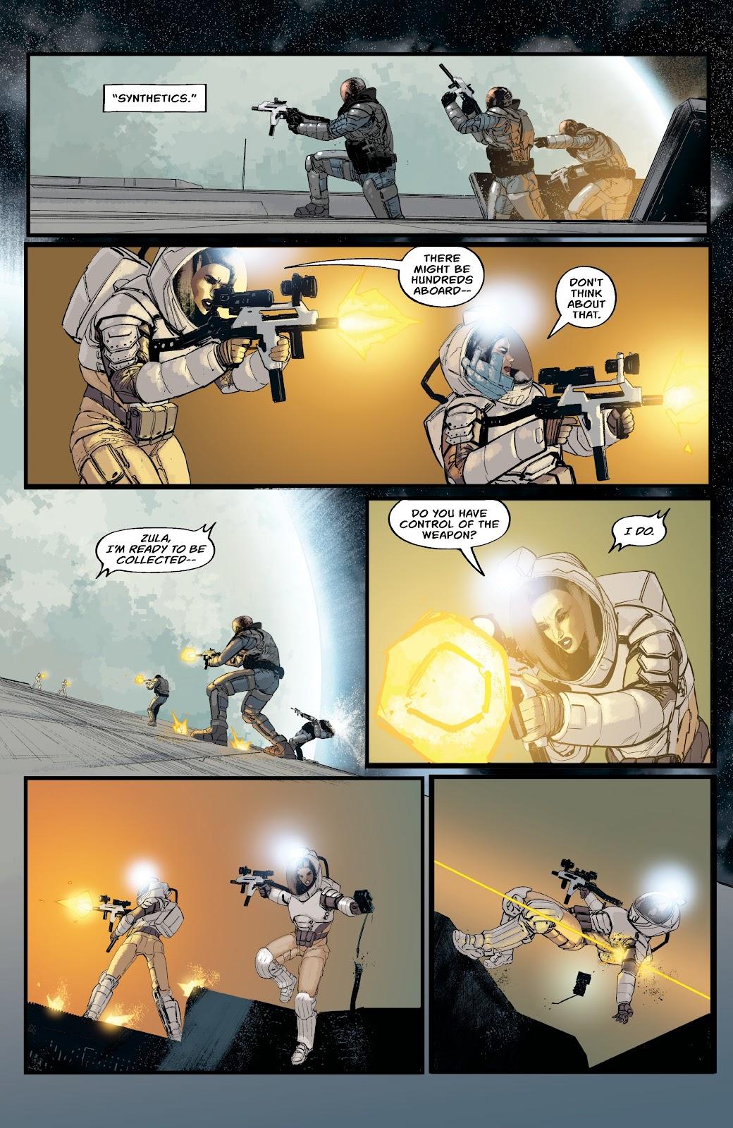 Read online Aliens: Resistance comic -  Issue #2 - 19