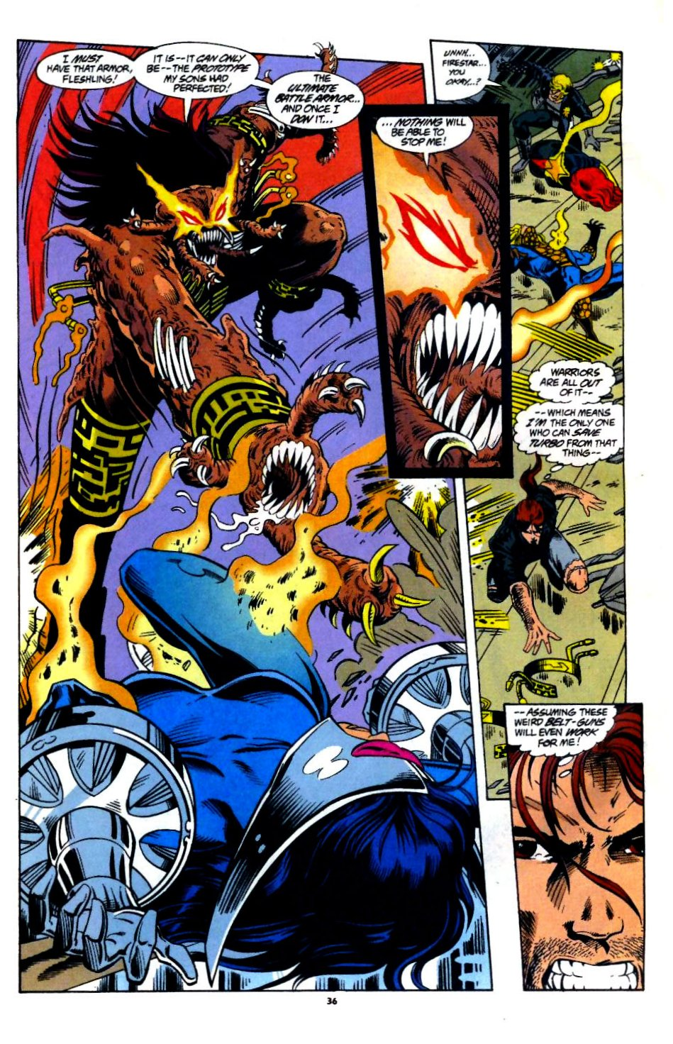 The New Warriors Issue #60 #64 - English 28