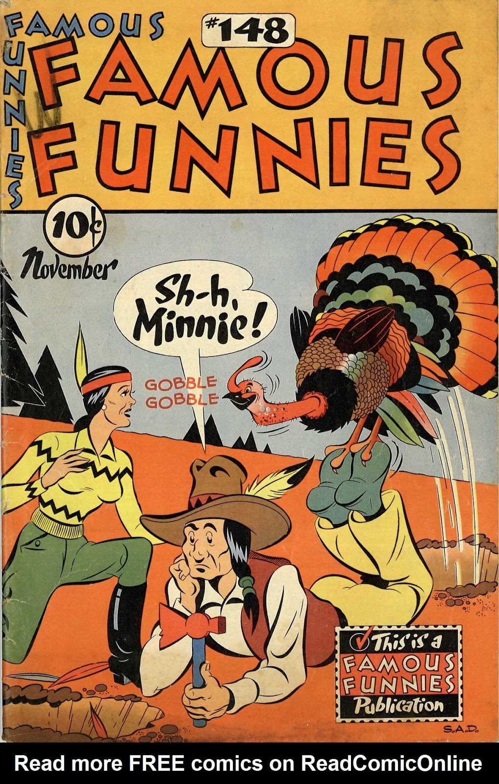 Read online Famous Funnies comic -  Issue #148 - 1