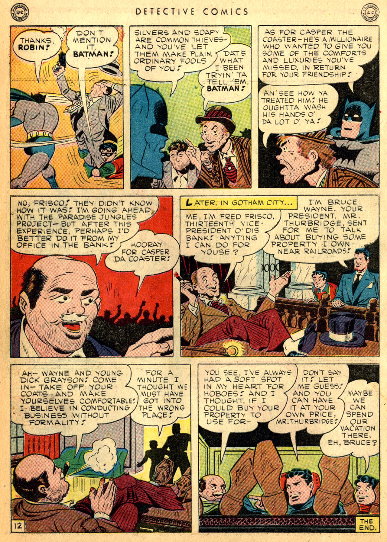 Read online Detective Comics (1937) comic -  Issue #98 - 14