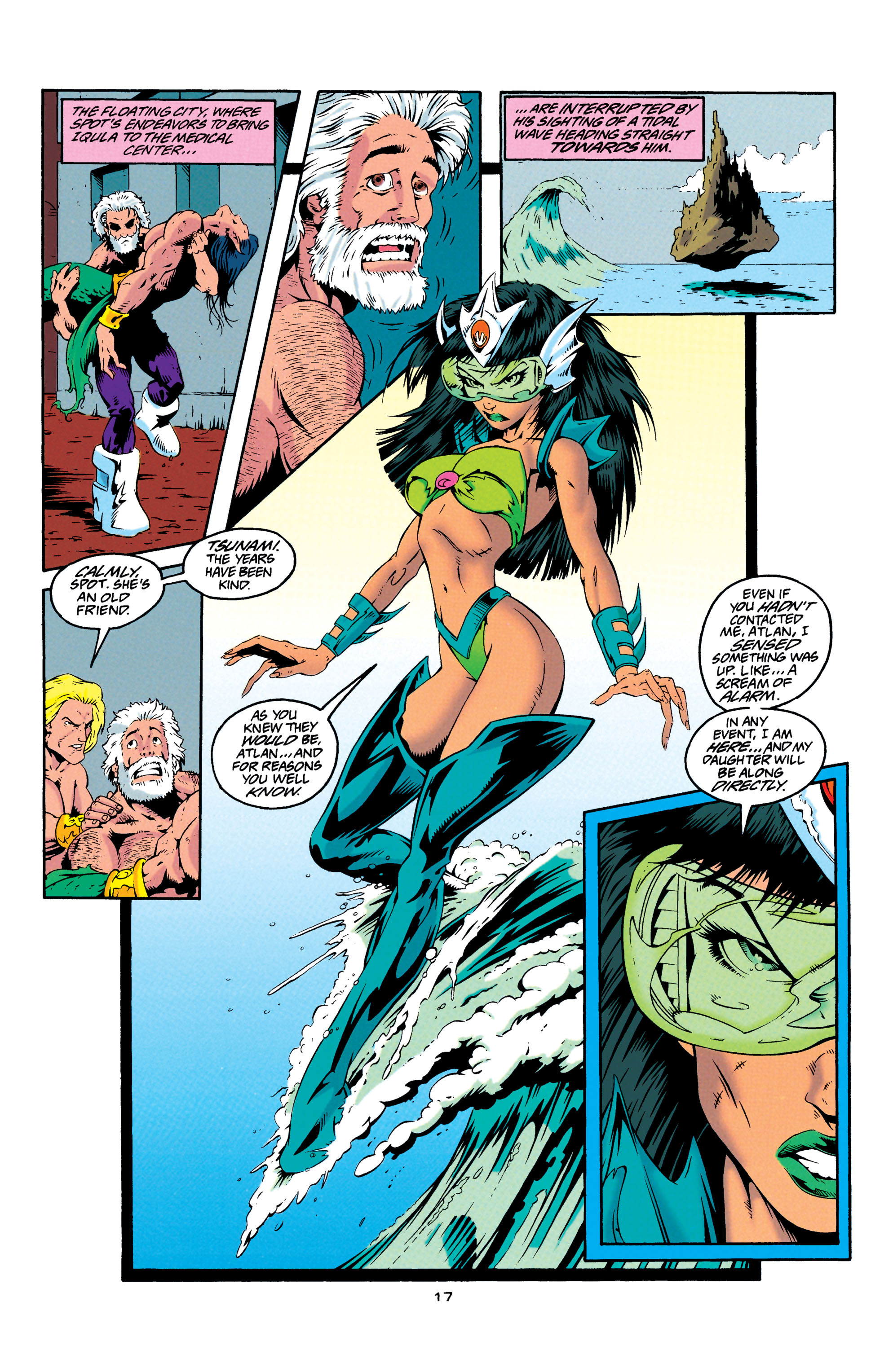 Read online Aquaman (1994) comic -  Issue #23 - 17