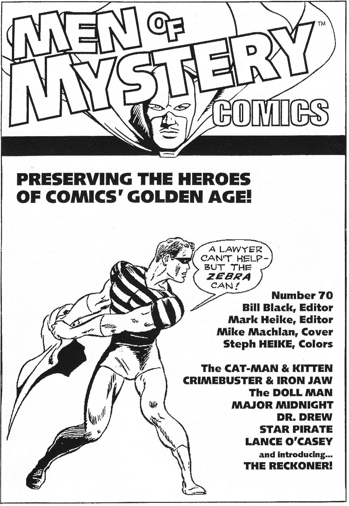 Read online Men of Mystery Comics comic -  Issue #70 - 3
