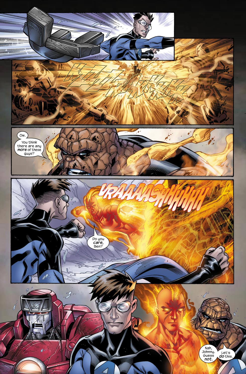 Read online Ultimate Fantastic Four (2004) comic -  Issue #49 - 11