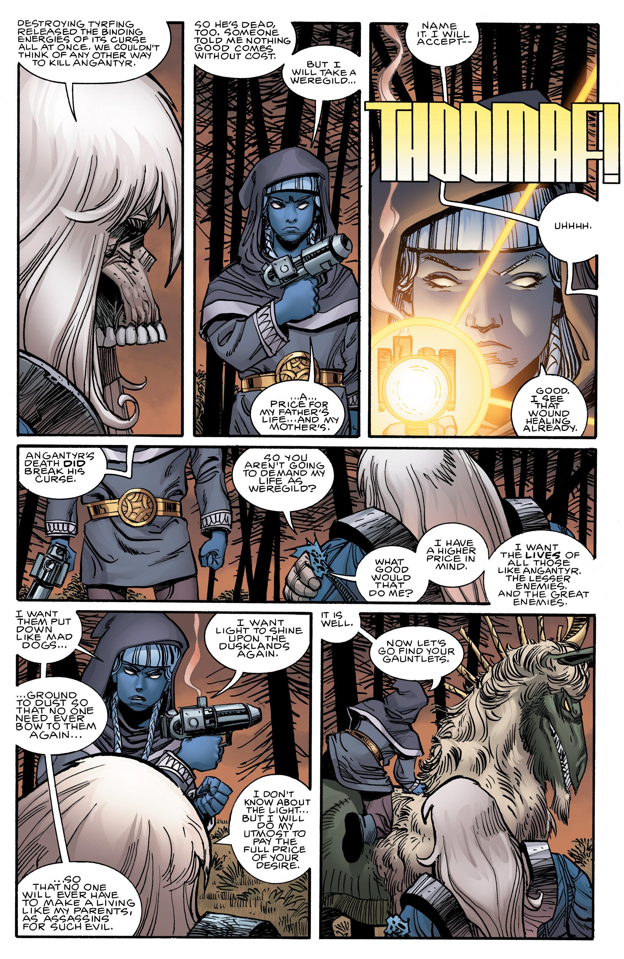 Read online Ragnarok comic -  Issue #12 - 13