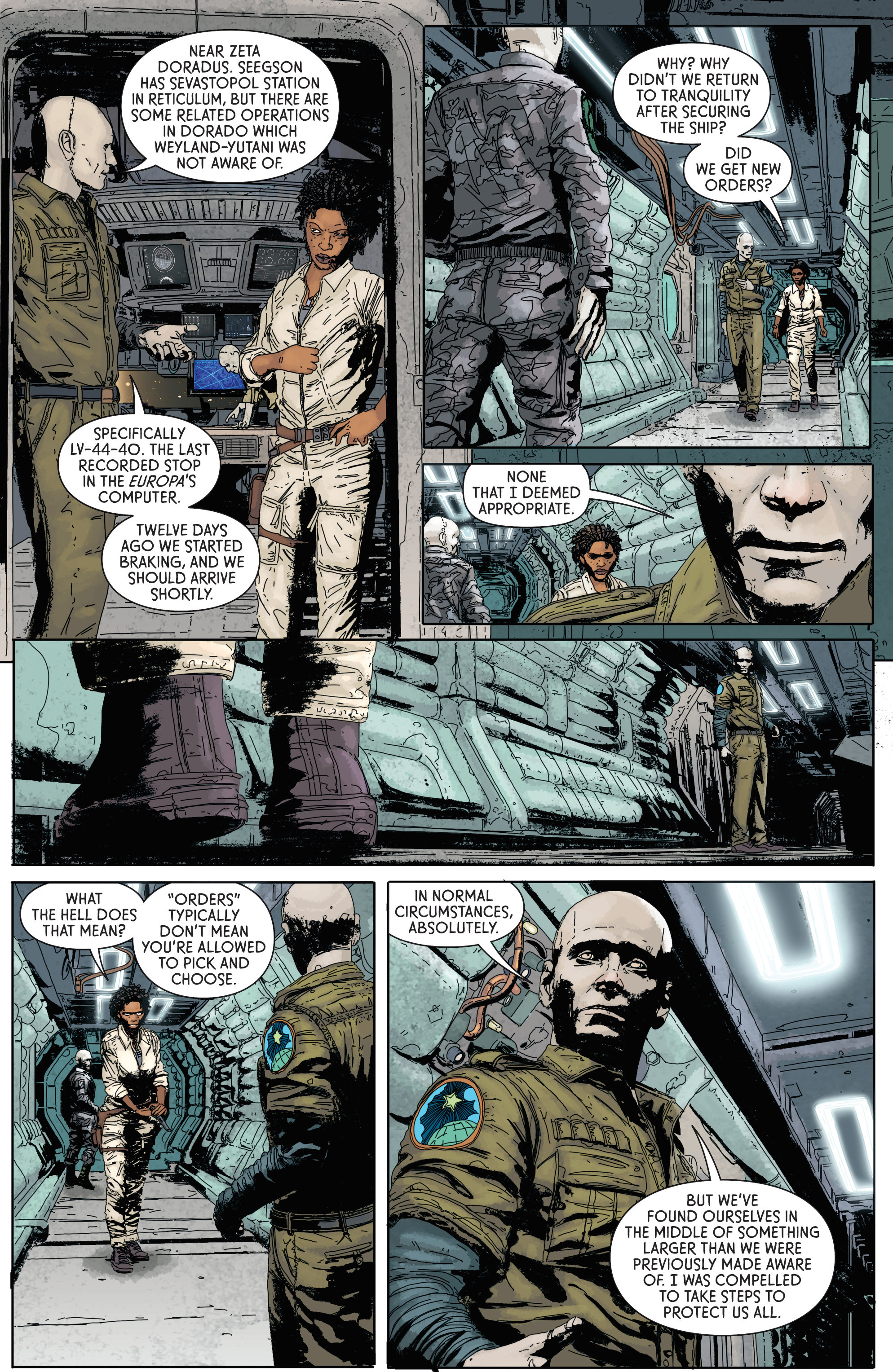 Read online Aliens: Defiance comic -  Issue #1 - 26