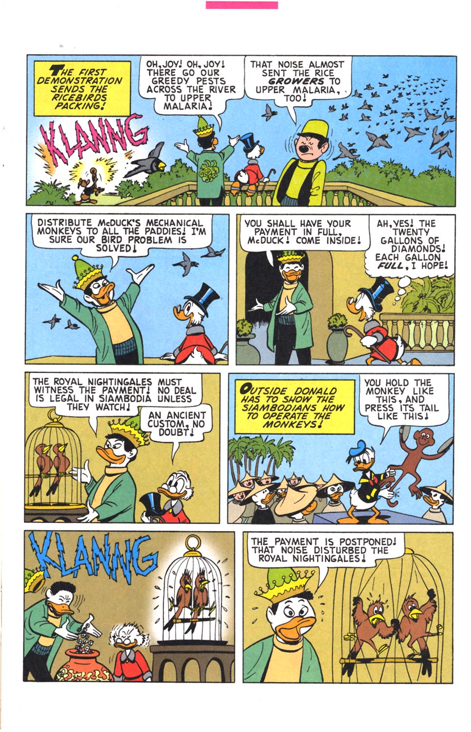 Read online Uncle Scrooge (1953) comic -  Issue #302 - 7