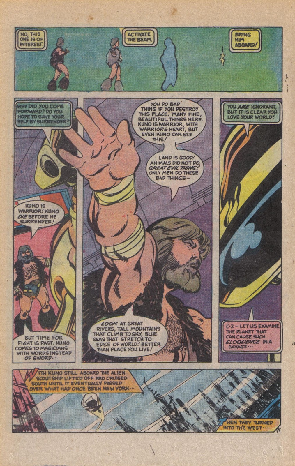 Read online Doomsday   1 (1975) comic -  Issue #9 - 25