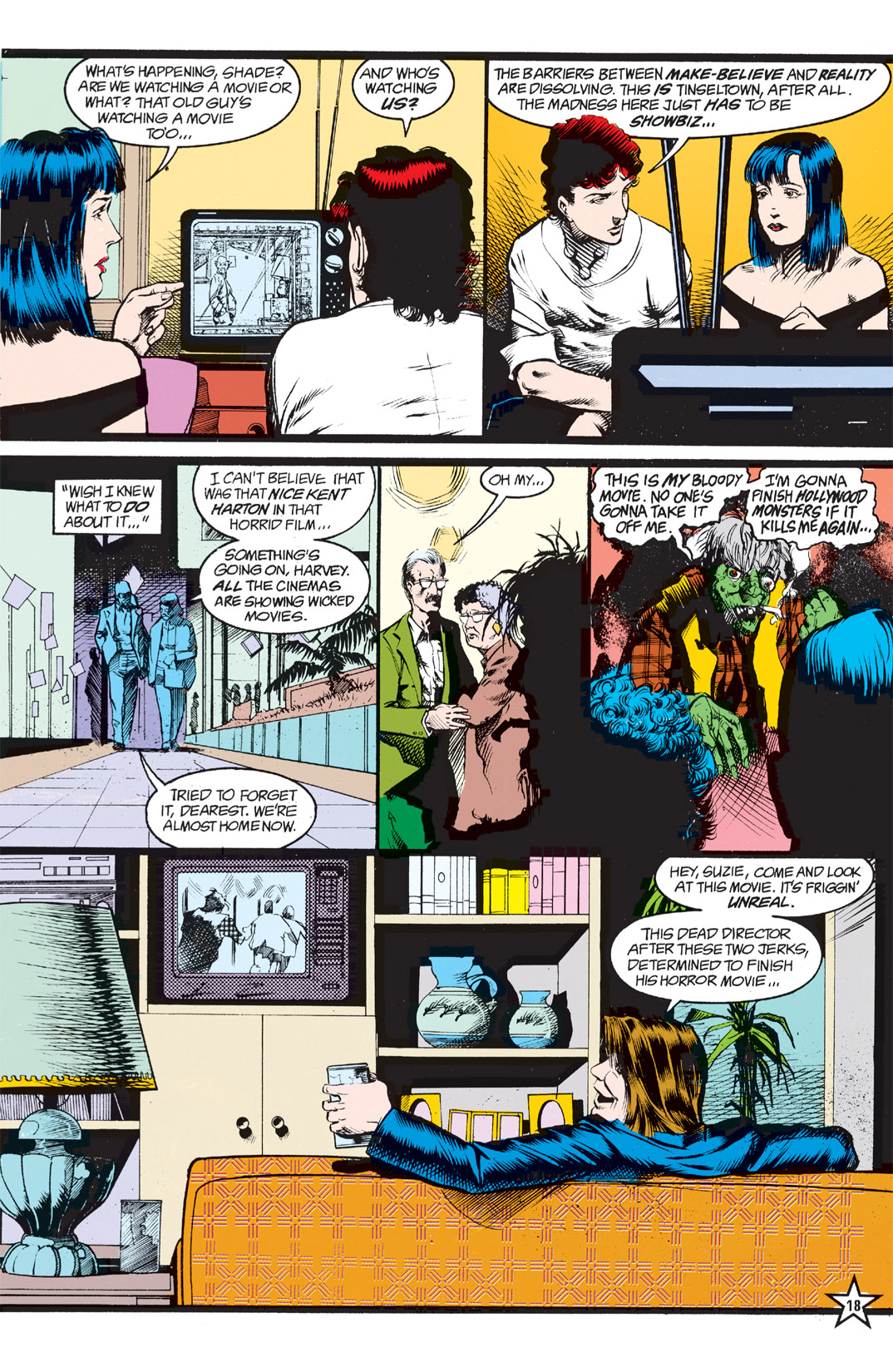 Read online Shade, the Changing Man comic -  Issue #5 - 20
