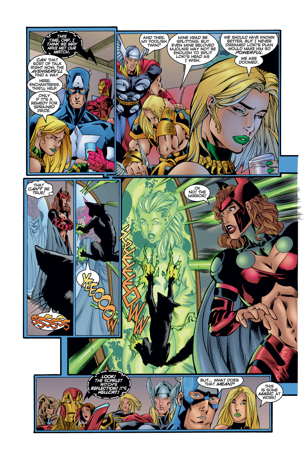 Read online Avengers (1996) comic -  Issue #11 - 5