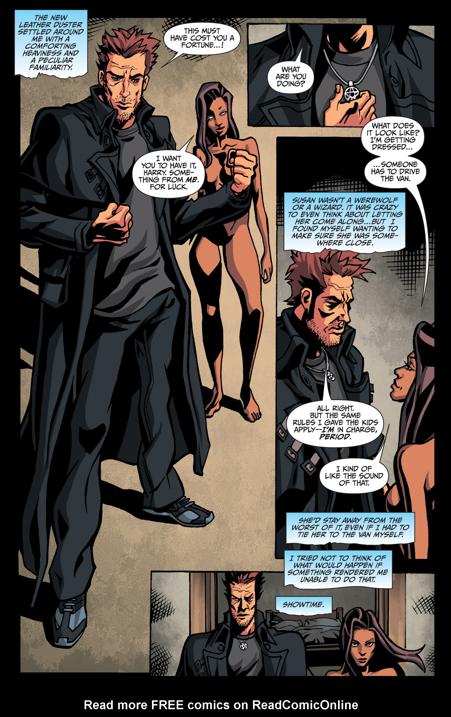 Read online Jim Butcher's The Dresden Files: Fool Moon comic -  Issue #7 - 19