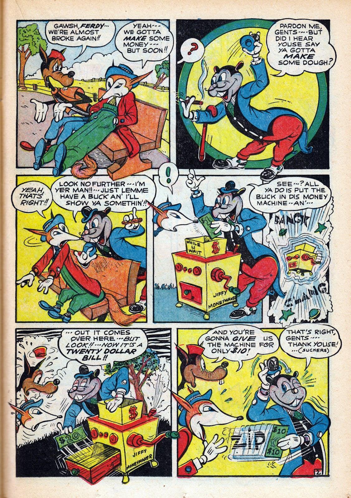 Read online Comedy Comics (1942) comic -  Issue #15 - 39