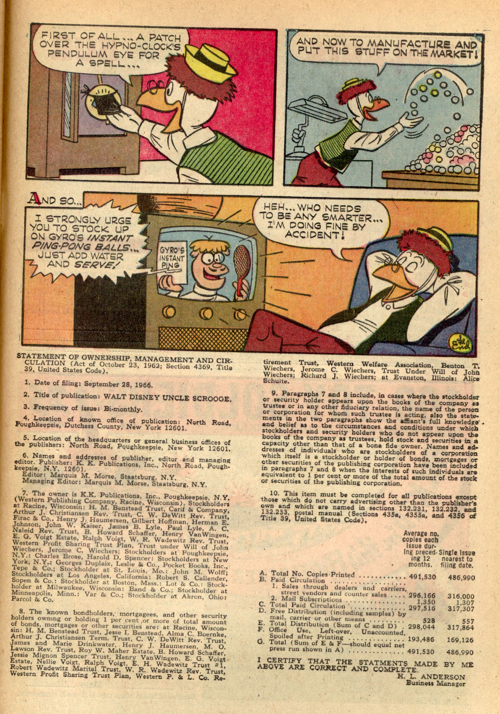 Read online Uncle Scrooge (1953) comic -  Issue #68 - 33