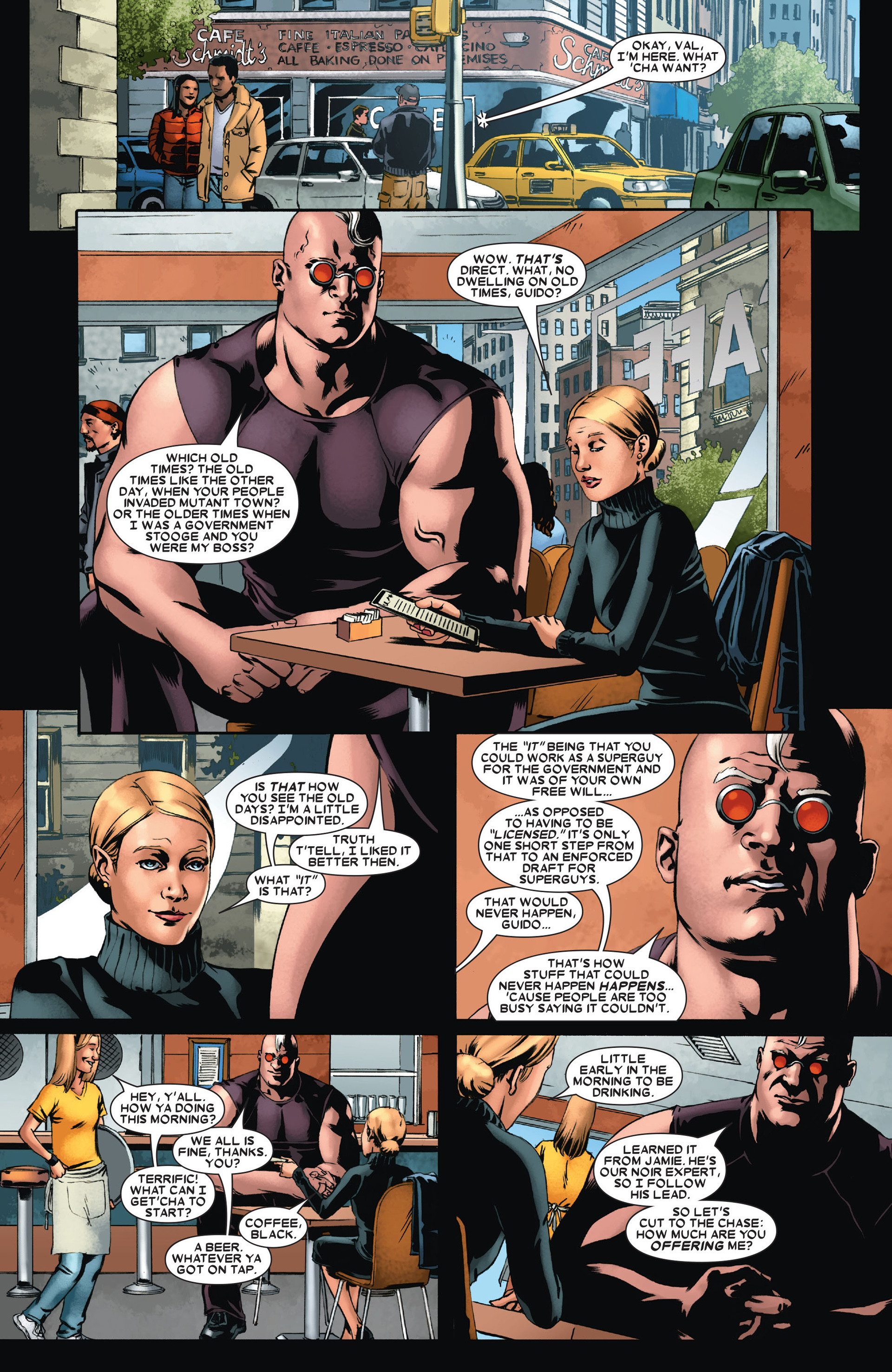 Read online X-Factor (2006) comic -  Issue #21 - 17