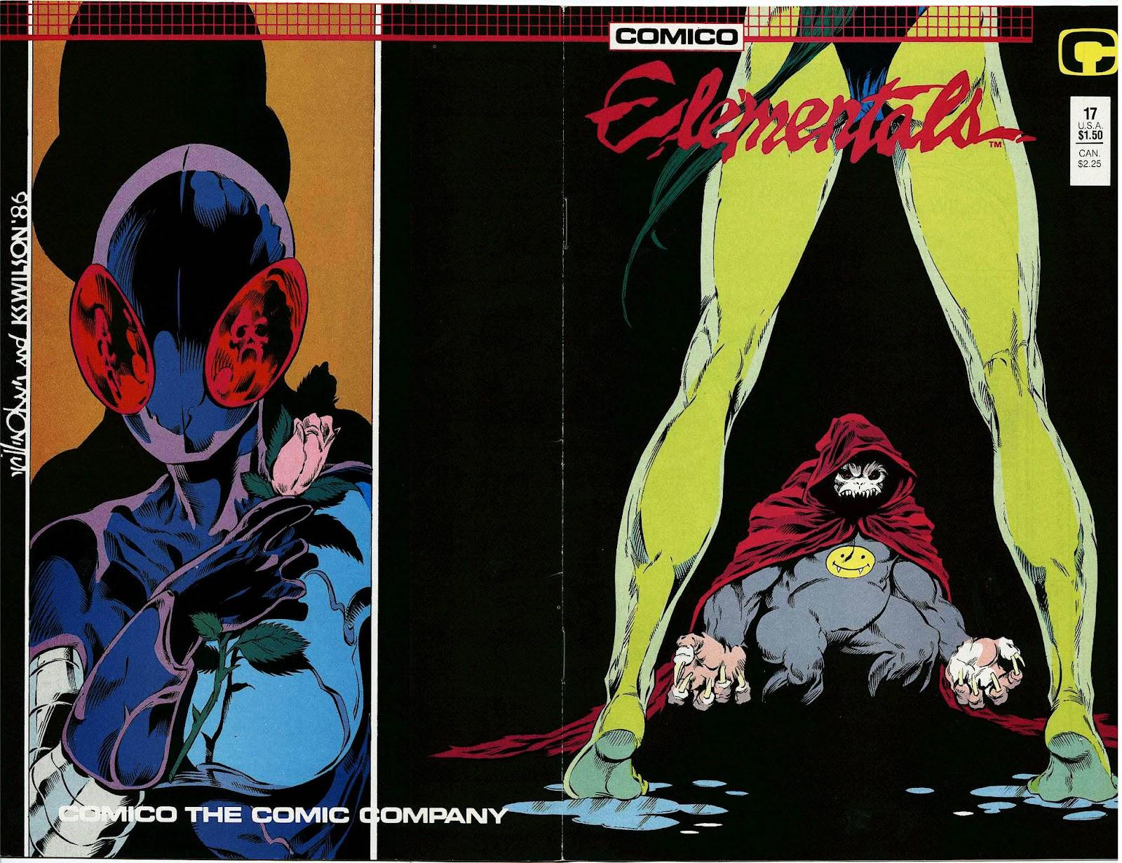 Elementals (1984) issue 17 - Page 1