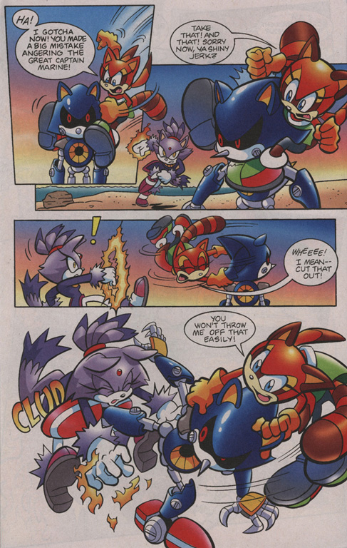 Read online Sonic Universe comic -  Issue #1 - 15