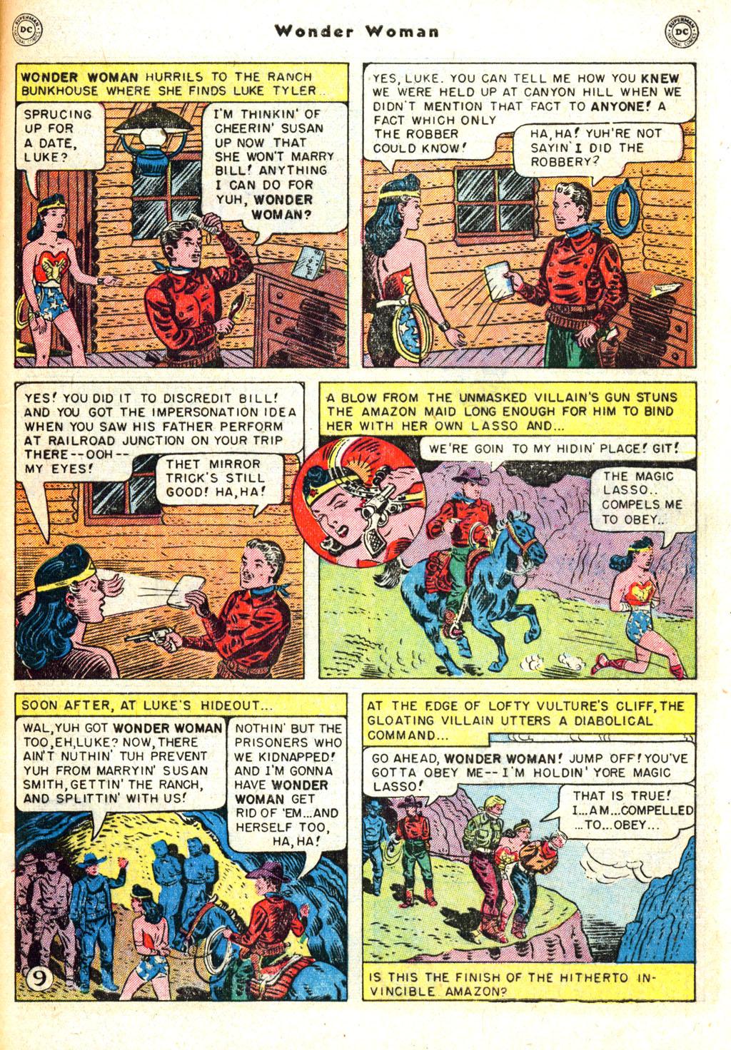 Read online Wonder Woman (1942) comic -  Issue #45 - 47